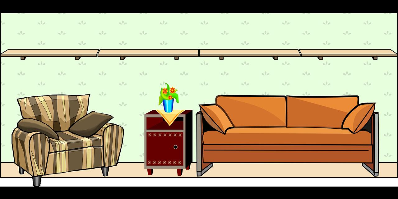 רהיטים מצוירים